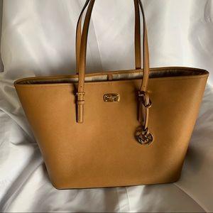 Large Oversized Michael Kors Tan Tote Bag